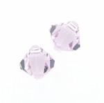 Swarovski 6301 Bicone Pendant Top-Drilled 6mm Bicone - Light Amethyst (24)