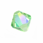 Swarovski 6301 Bicone Pendant Top-Drilled 6mm Bicone - Peridot AB (24)