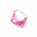 Swarovski 6301 Bicone Pendant Top-Drilled 6mm Bicone - Rose AB (24)