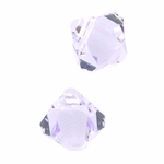 Swarovski 6301 Bicone Pendant Top-Drilled 6mm Bicone - Violet (24) disc