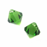 Swarovski 6301 Bicone Pendant Top-Drilled 8mm Bicone - Fern Green (12)