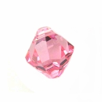 Swarovski 6301 Bicone Pendant Top-Drilled 8mm Bicone - Light Rose (12)