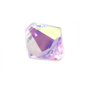 Swarovski 6301 Bicone Pendant Top-Drilled 8mm Bicone - Violet AB (12)