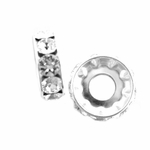 Swarovski BeCharmed Rondelle 4.5x13mm - Crystal - discontinued