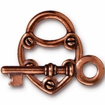 TierraCast Copper-Plated over Pewter Toggles