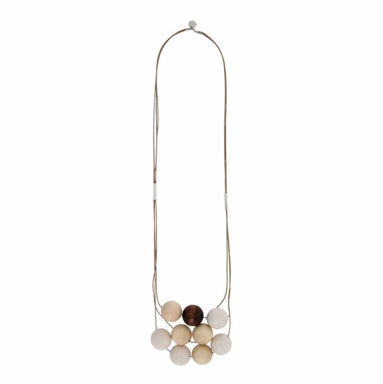 Aarikka Malla Brown Necklace