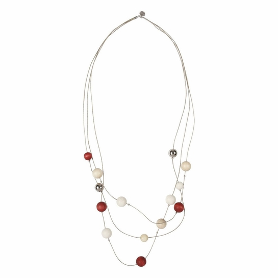 Aarikka Niitty Red Necklace