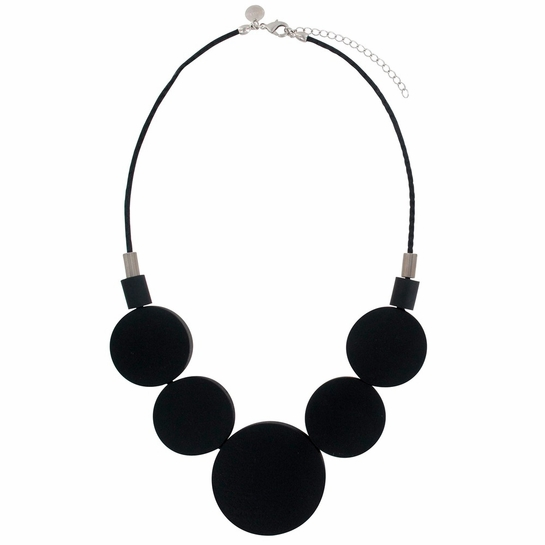 aarikka Oona Black Necklace
