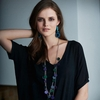 aarikka Pisara Blue Necklace