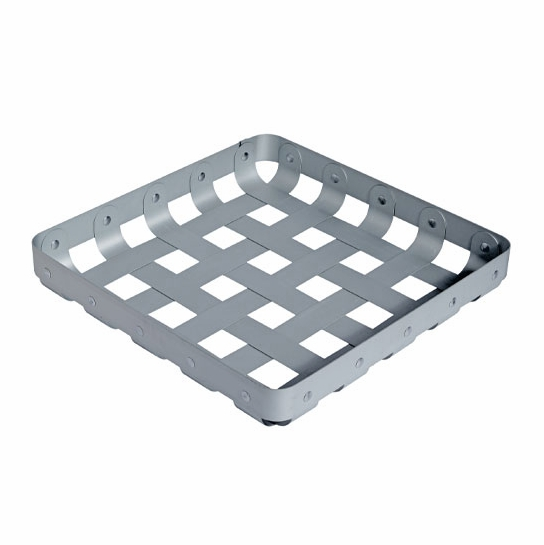 "Alessi ""CrissCross"" Aluminum Decorative Storage Basket"