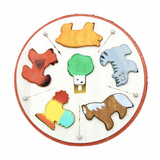 Animal Carousel Puzzle
