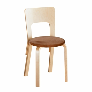 Artek Alvar Aalto 66 High Back Chair - Your Own Materials