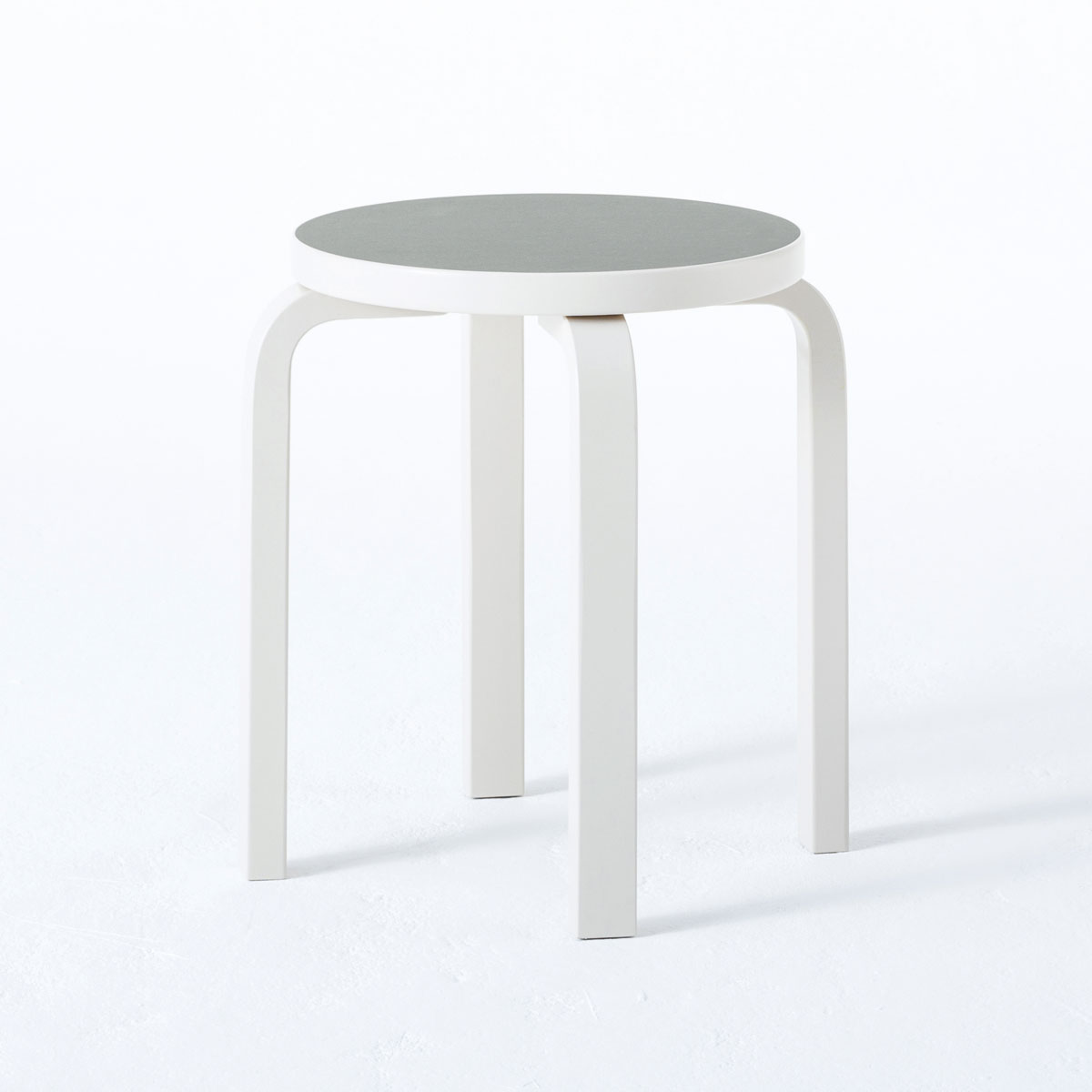 Admirable Artek Alvar Aalto Stone White Stool 60 Creativecarmelina Interior Chair Design Creativecarmelinacom