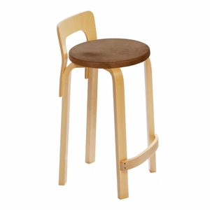 Artek K65 - Low Back Stool - Your Own Fabric