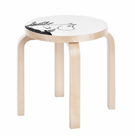 Artek Moomin Children's Stool NE60