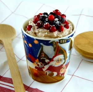 Date Cinnamon Chaga Mousse - Click to enlarge