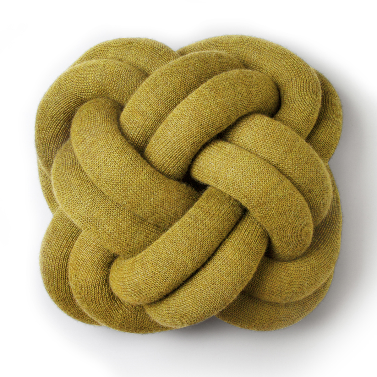 Design House Stockholm Yellow Knot Cushion Design House