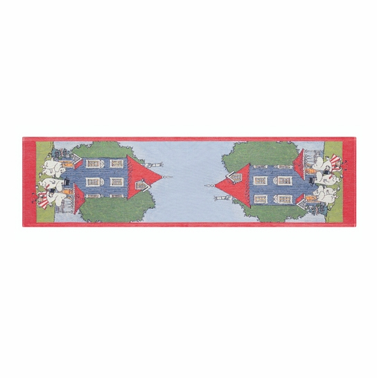 Ekelund Moomin House Table Runner