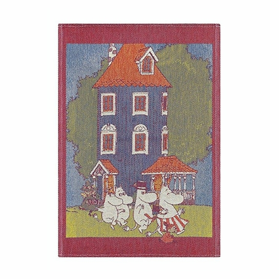 Ekelund Moomin House Tea Towel