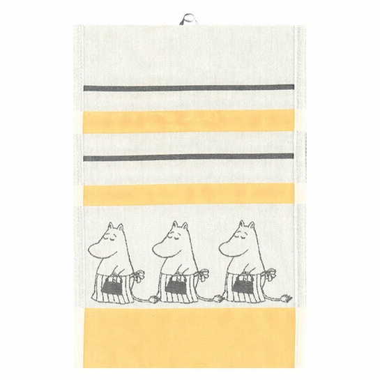 Ekelund Moomin Mamma Yellow Tea Towel