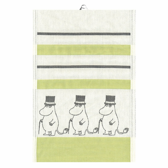 Ekelund Moomin Pappa Green Tea Towel