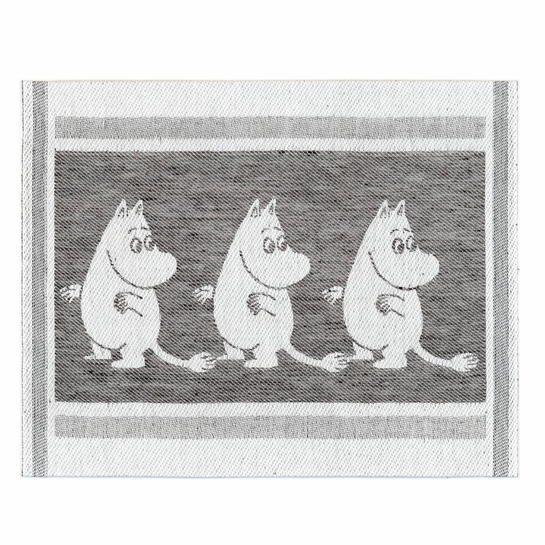 Ekelund Moomintroll Black / White DishCloth
