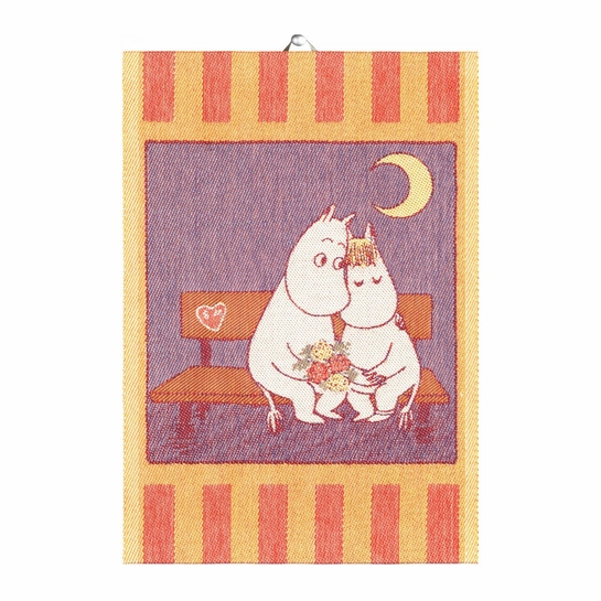 Ekelund Sweethearts Tea Towel
