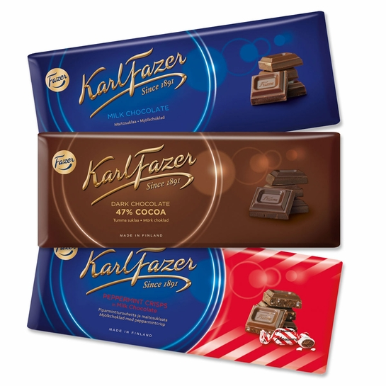 Fazer Chocolate Bar Sampler Pack