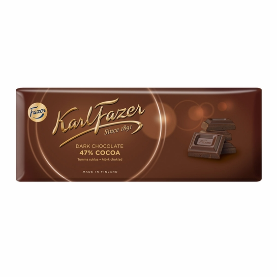 Fazer Dark Chocolate Bar - 7 oz