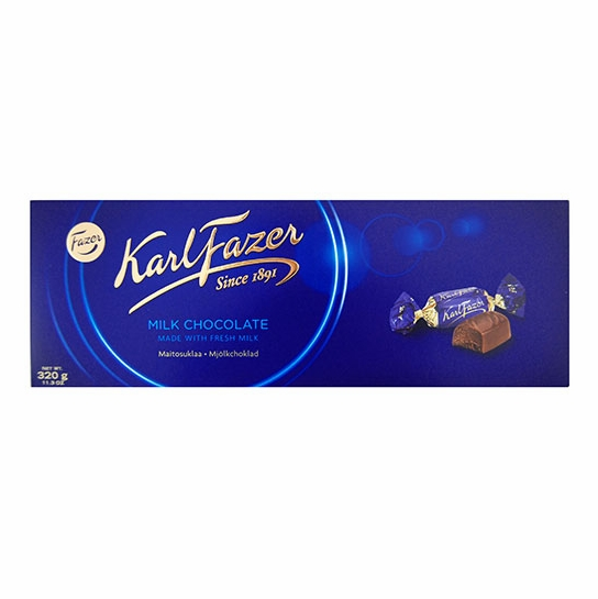 Fazer Milk Chocolate Box - 11-1/4 oz