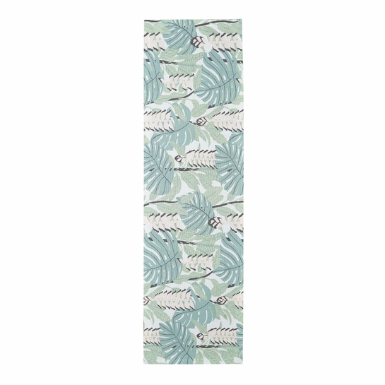 Finlayson Bunaken Green / Pink Table Runner