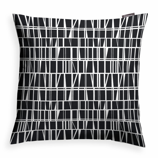 Finlayson Coronna Black Throw Pillow