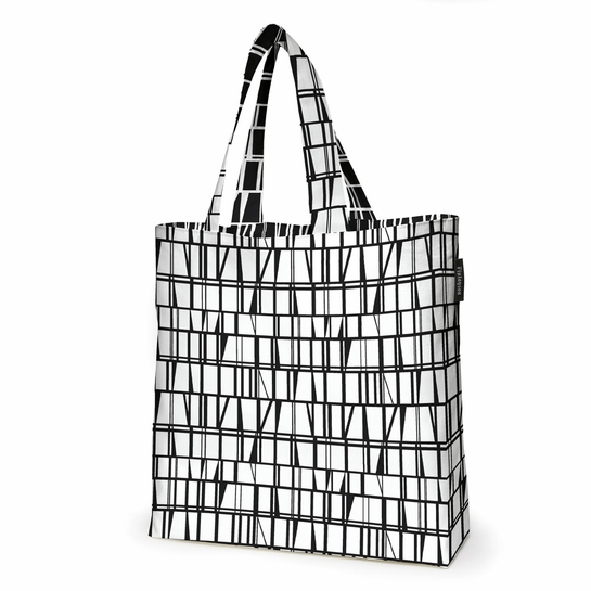 Finlayson Coronna Black / White Reversible Shopping Bag