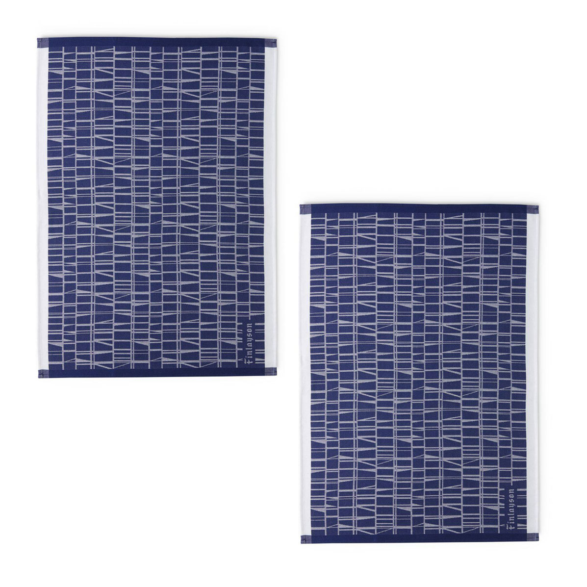 Finlayson Coronna Blue Kitchen Towels Set