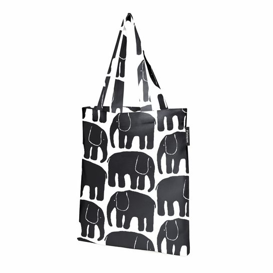 Finlayson Elefantti Black Shopping Bag