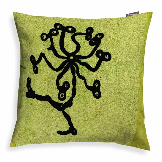 Finlayson Hiprakka Green Throw Pillow