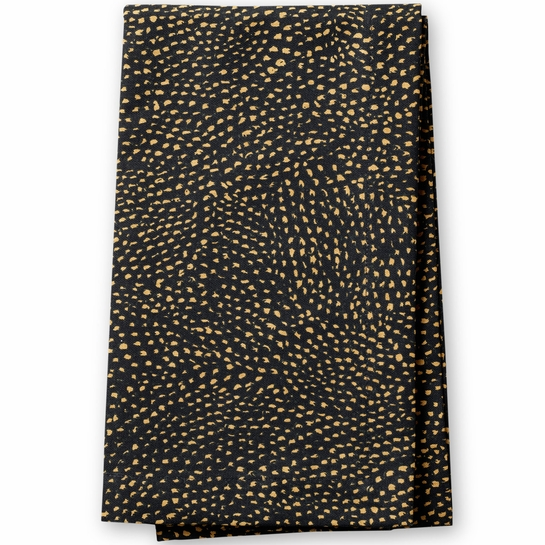 Finlayson Kurupuro Black / Gold Table Runner