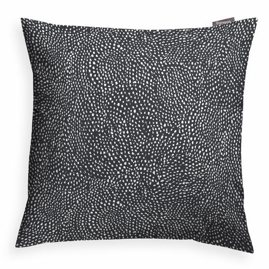 Finlayson Kurupuro Black / White Throw Pillow