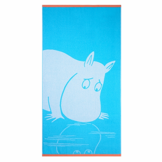 Finlayson Moomintroll Turquoise Bath Towel