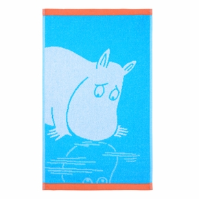 Finlayson Moomintroll Turquoise Hand Towel