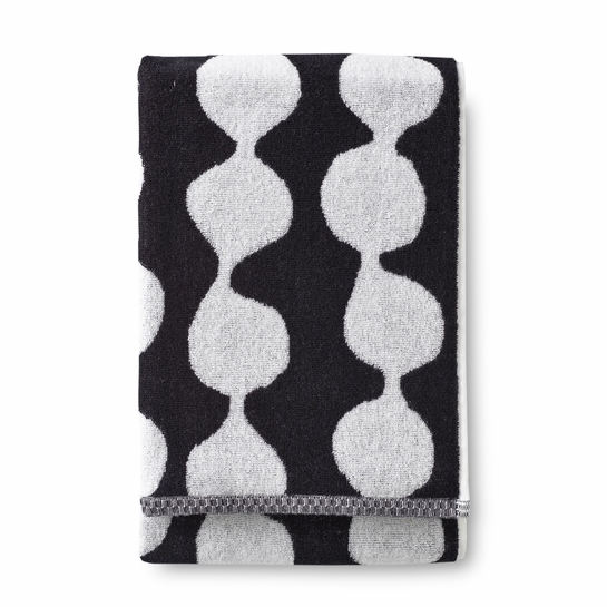 Finlayson Pampula Black / White Bath Towel
