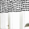 Finlayson Pampula Black / White Fabric