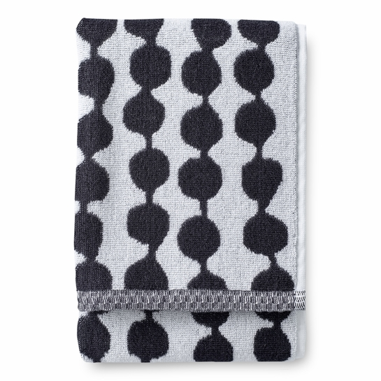 Finlayson Pampula Black / White Hand Towel