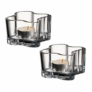 iittala Aalto Clear Votives - Set of 2 - Click to enlarge