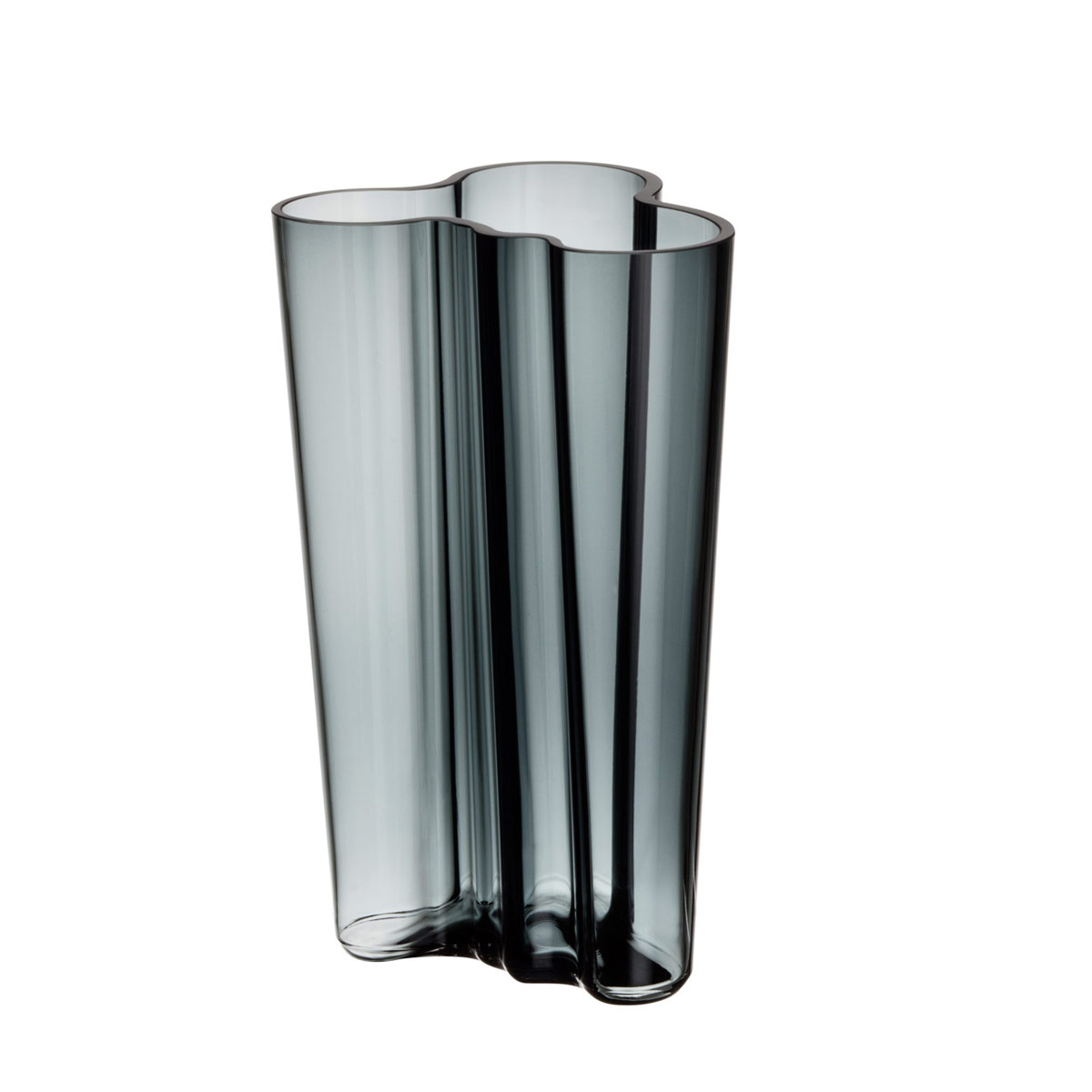 iittala aalto finlandia dark grey vase 8 iittala. Black Bedroom Furniture Sets. Home Design Ideas
