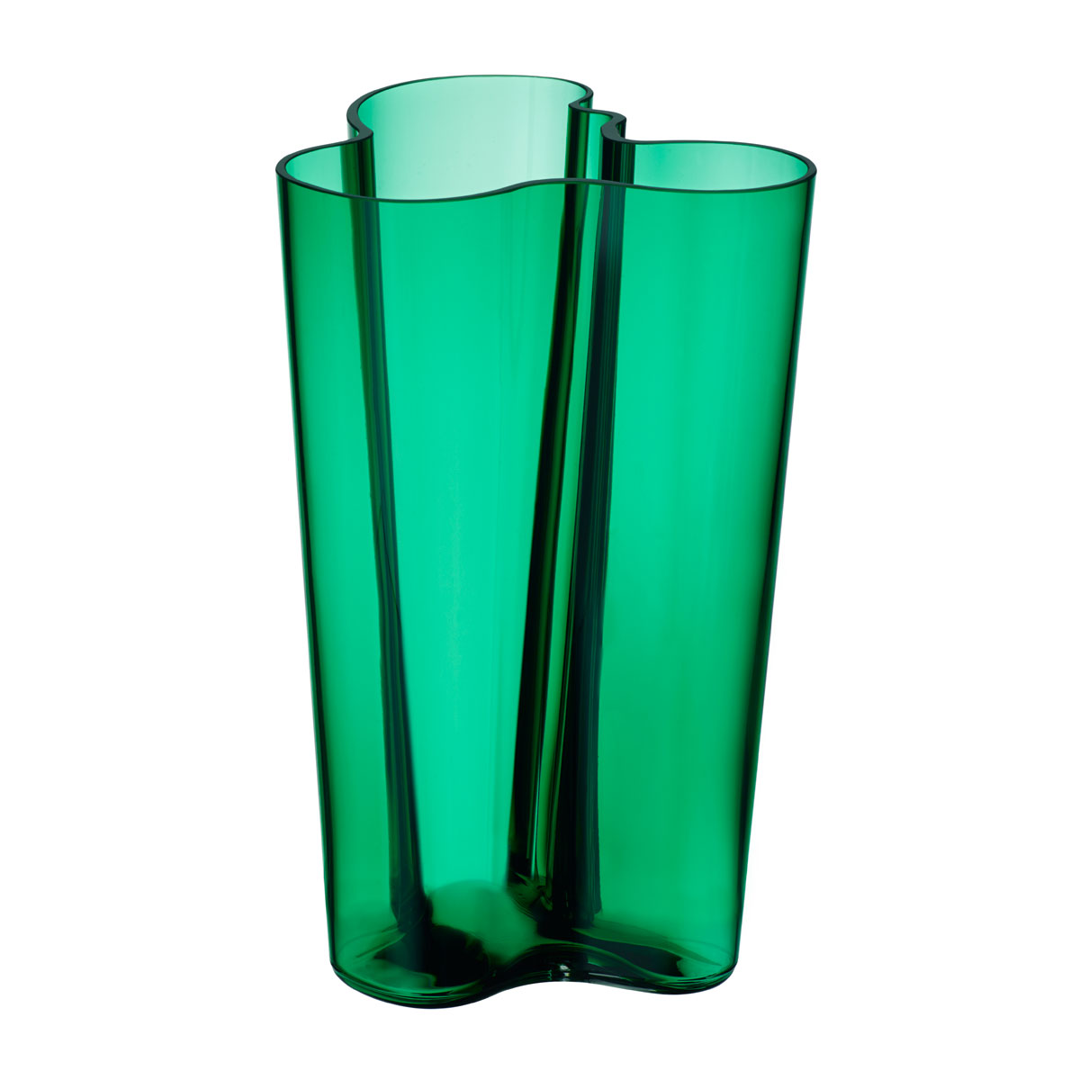 iittala aalto finlandia emerald vase 10 iittala alvar aalto vases. Black Bedroom Furniture Sets. Home Design Ideas