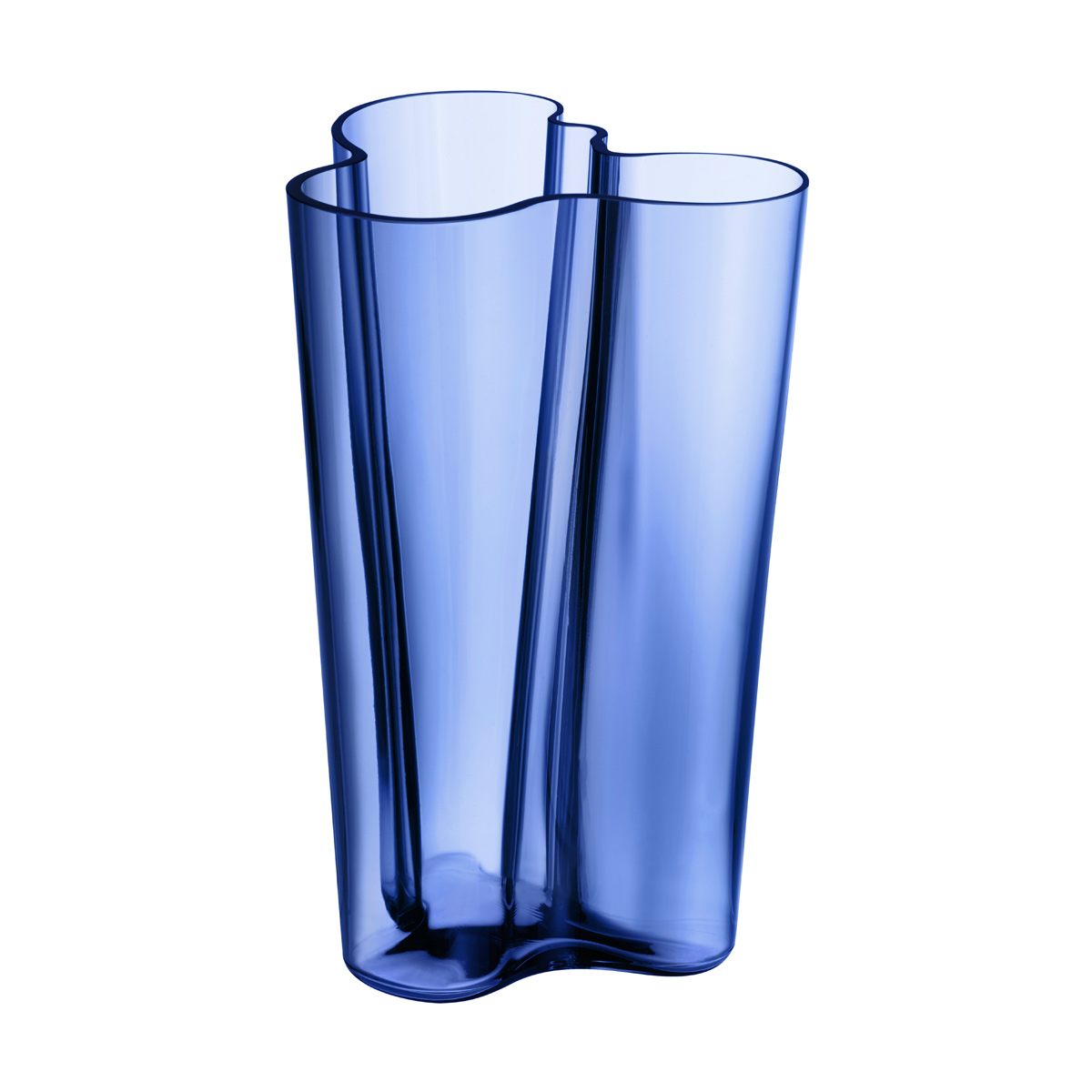 iittala aalto finlandia ultramarine 39 finland 100 39 vase 10 finland 100th anniversary. Black Bedroom Furniture Sets. Home Design Ideas