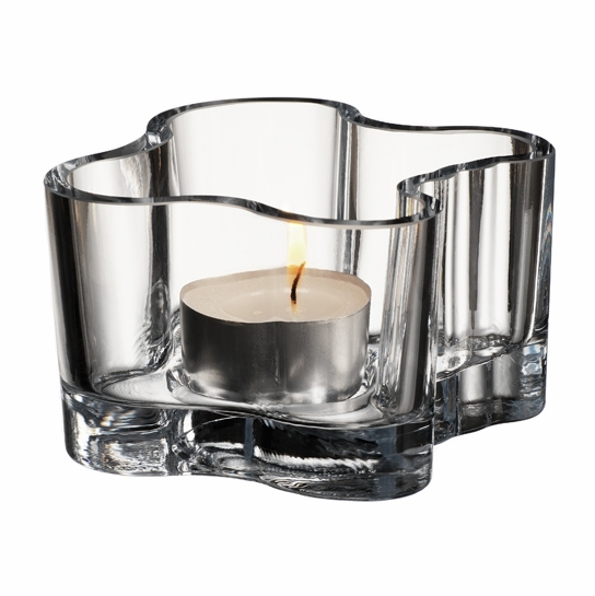 iittala Aalto Votive Candle Holder - Clear