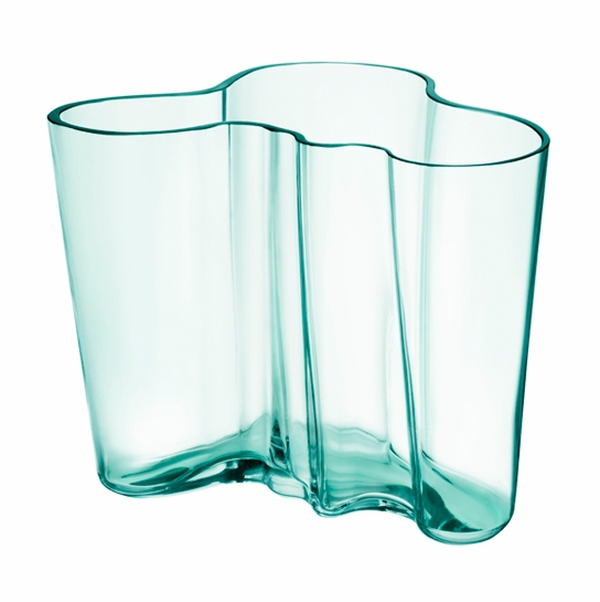 iittala aalto water green vase 6 1 4 iittala alvar aalto vases. Black Bedroom Furniture Sets. Home Design Ideas