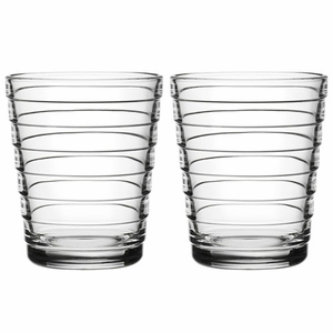 iittala Aino Aalto Clear Medium Tumblers - Set of 2